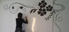 墙体手绘,与同道者优缺点比较!