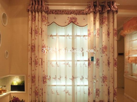 隔音窗帘效果图
