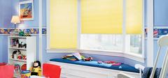 儿童房窗帘适合选择哪种款式?