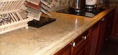 厨柜台面材料优缺点比较