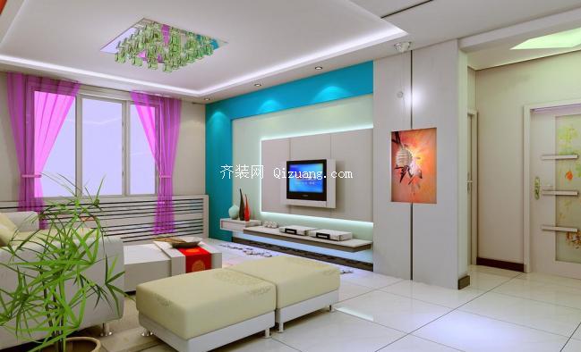 美观大方的电视墙设计技巧