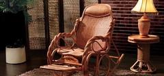 藤制摇椅的选购及保养方法
