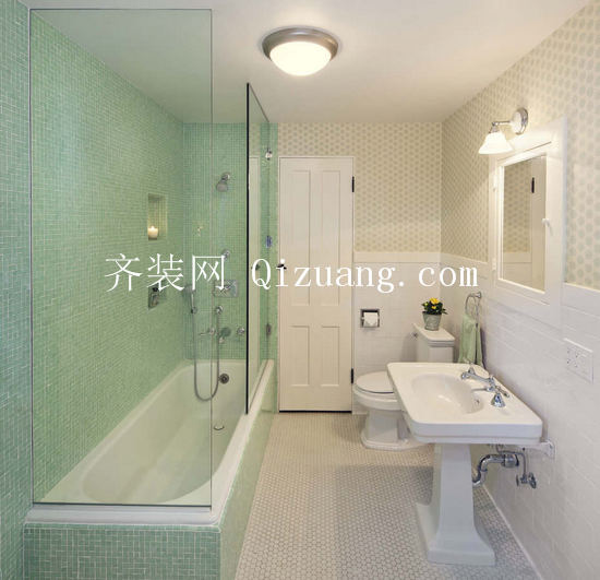 小户型卫浴装修效果图