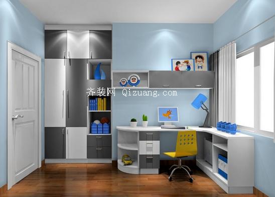 儿童房设计装修效果图