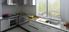 不锈钢厨柜台面有哪些优点?