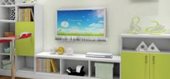 高颜值的客厅电视柜搭配技巧!