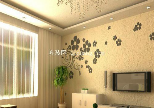 硅藻泥背景墙