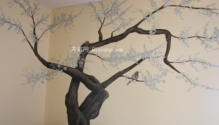 墙体手绘效果图