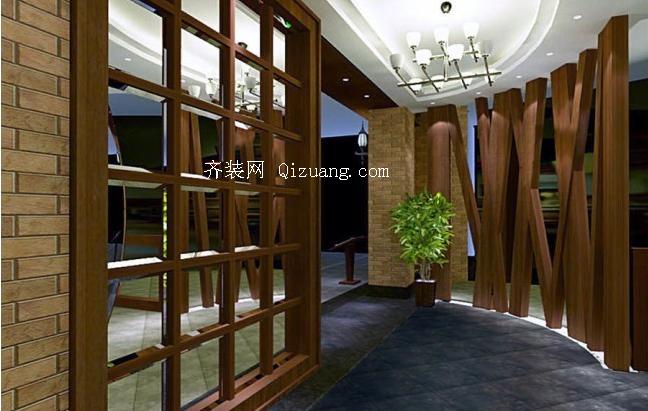 美式风格酒店装修效果图