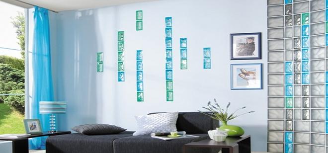 玻璃砖在家装中的独特优势