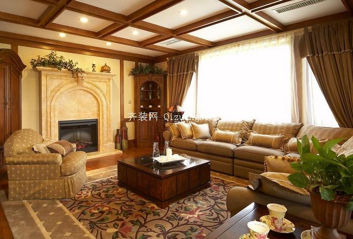 美式别墅装修效果图