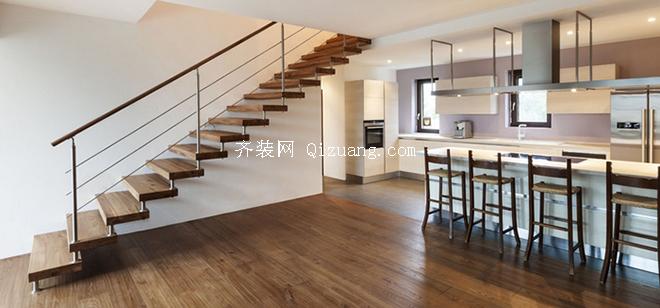 室内楼梯效果图