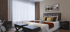 卧室窗帘的选购及保养