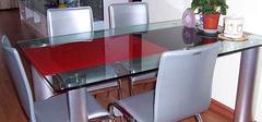 你家的玻璃餐桌干净吗?