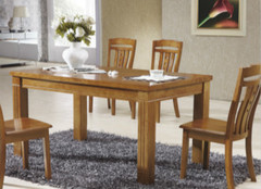 实木餐桌如何选,大小造型是重点!