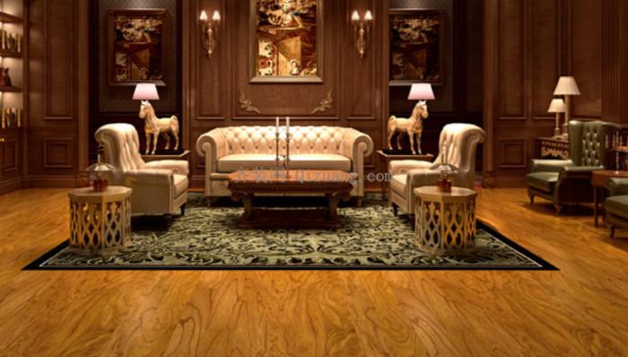 多层实木地板效果图