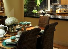 大理石餐桌,提高空间颜值的关键!