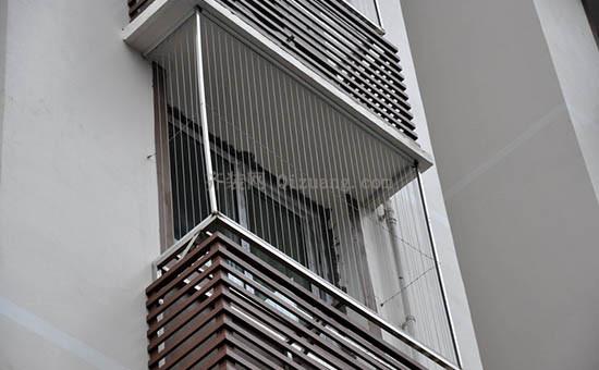 隐形防盗窗