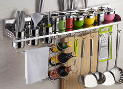 厨房置物架选购需要注意哪些细节?