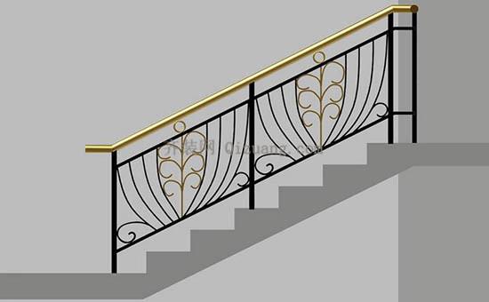 由于铁艺楼梯在制作过程中
