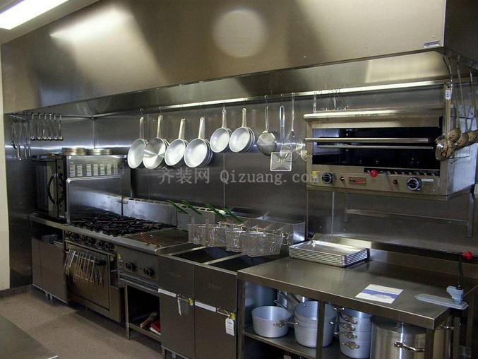 饭店厨房装修效果图