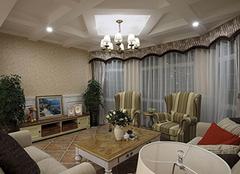 客厅窗帘这样选购,不美都难!