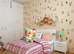 为孩子选择一款合适的儿童房壁纸!