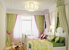 儿童房窗帘选购实用方法