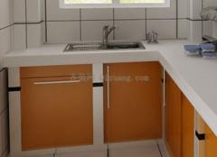 小厨房怎样设计出大空间?
