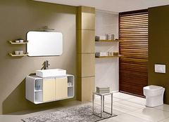 小户型卫生间该如何挑选浴室柜呢?