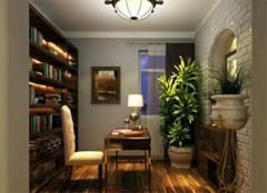 彰显奢华魅力 3款金典美式风格书房设计