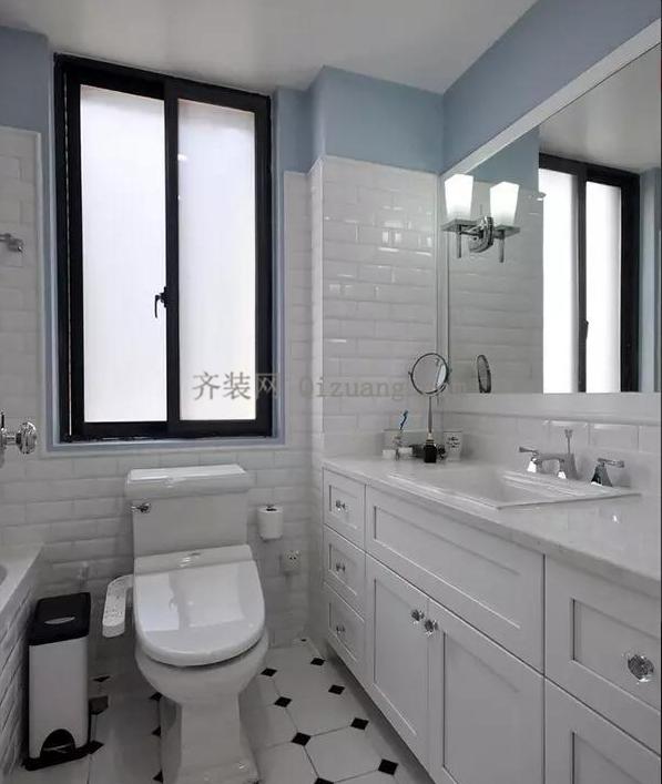 现代美式风格卫生间欣赏