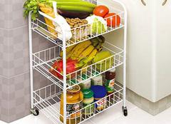 厨房置物架安装注意事项多