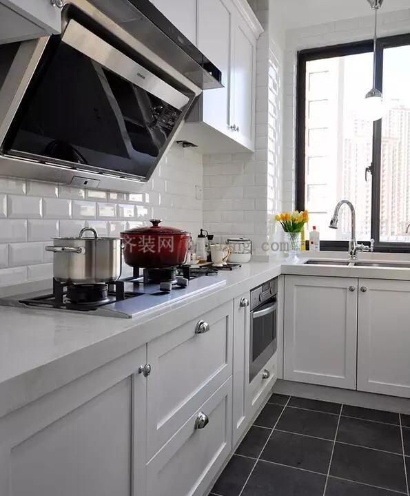 现代美式风格厨房欣赏