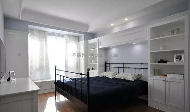 现代美式风格卧室欣赏