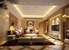 欧式客厅背景墙,让家居更温馨