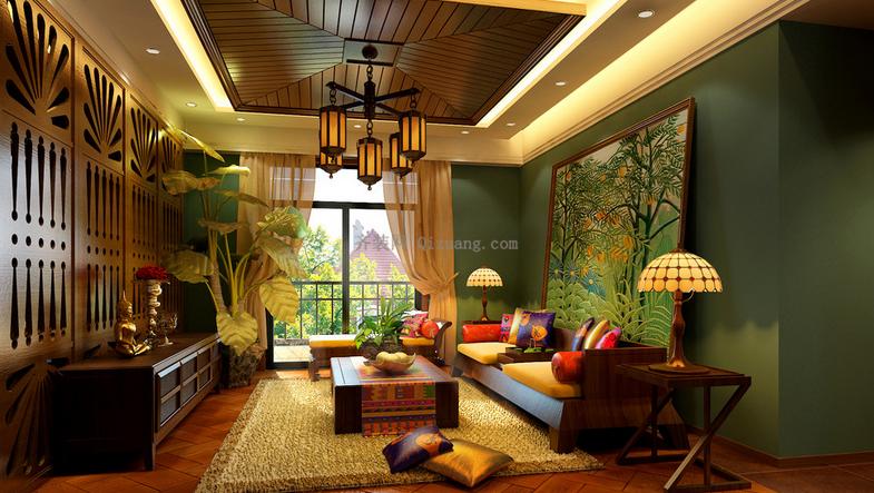 东南亚风格效果图