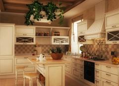 田园风格厨房这样装,让主妇爱上做饭
