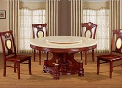 大理石餐桌这样保养,你见过吗?