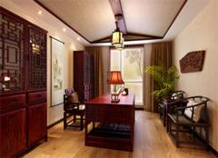 新中式风格书房,不一样的古韵优雅