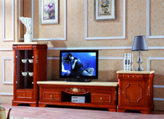 实木电视柜 客厅选择
