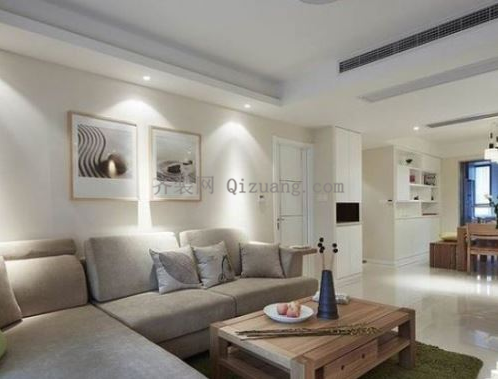 现代简约风格沙发搭配效果图