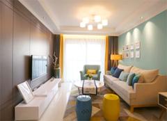 现代简约风格设计 100平温馨之家
