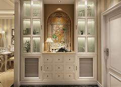 选购一款合适的玄关柜需要注意什么?