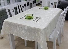 餐桌台布的选购技巧,不看别后悔哦!