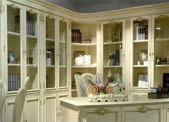 欧式书柜 如斯美好