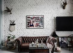 北欧混搭风格公寓 尽享摇滚气息