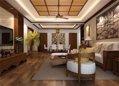 东南亚风格,玩转时尚160平米豪宅