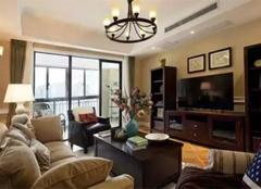 美式乡村风格,打造100平温馨三居室