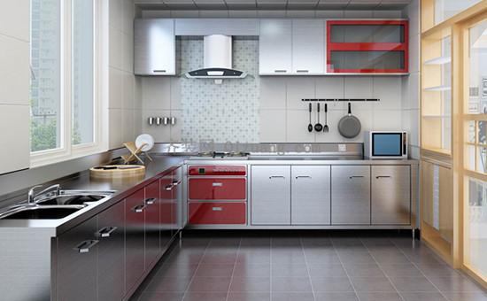 不锈钢厨柜
